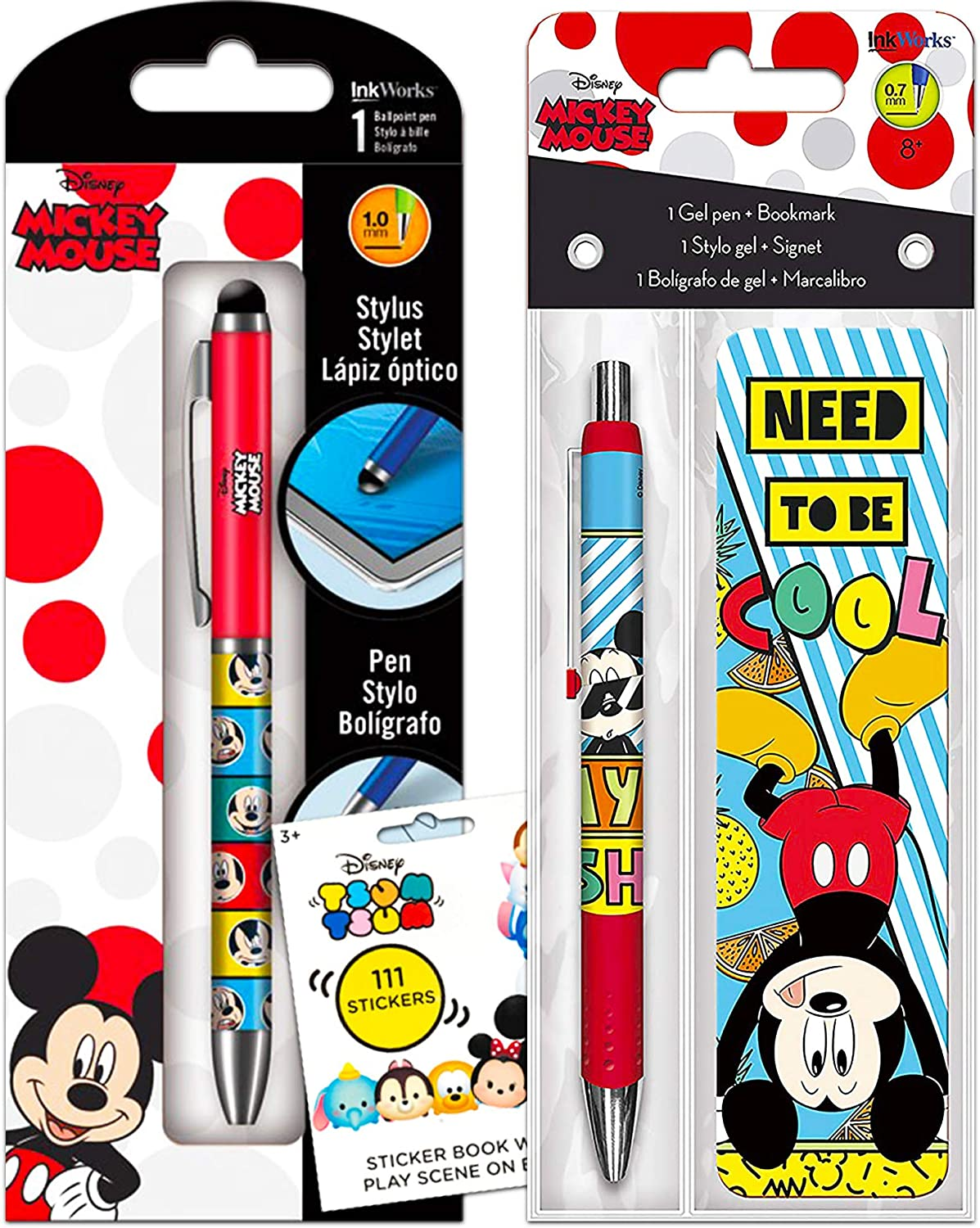 pack of 4 pop up pencils ideal party bags stocking fillers Disney Minnie Mouse