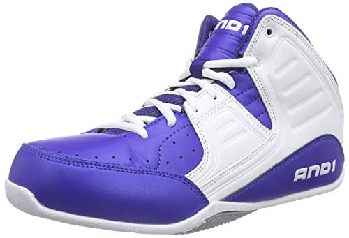 5bf19c7d2d009 AND1 Mens Rocket 4.0 Mid Basketball Athletic Shoes,