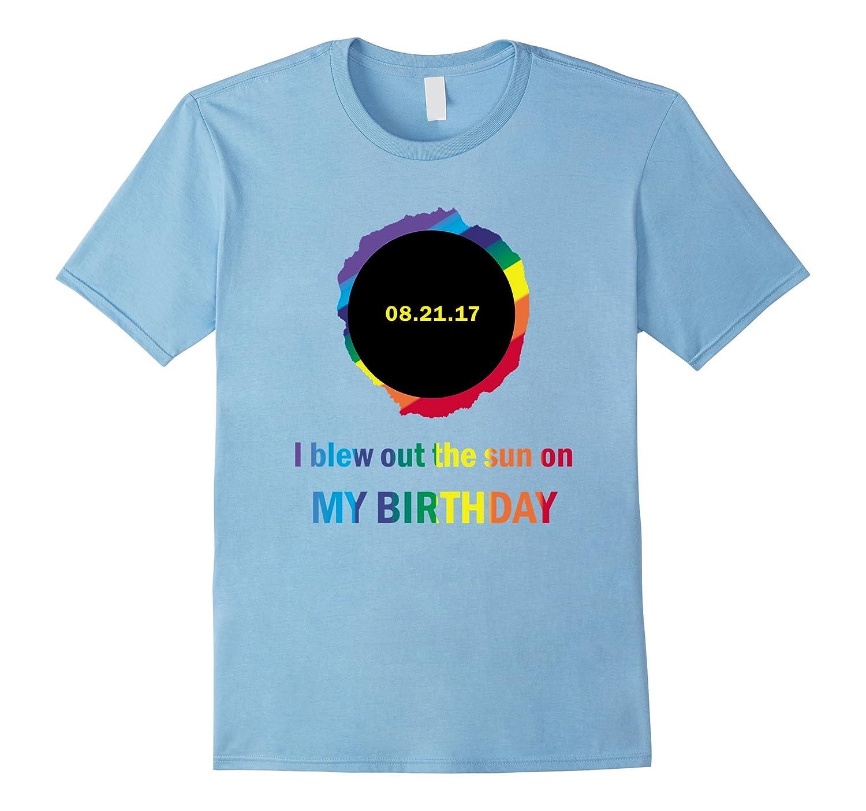 Total Summer Solar Eclipse August 21 Birthday Shirt BN