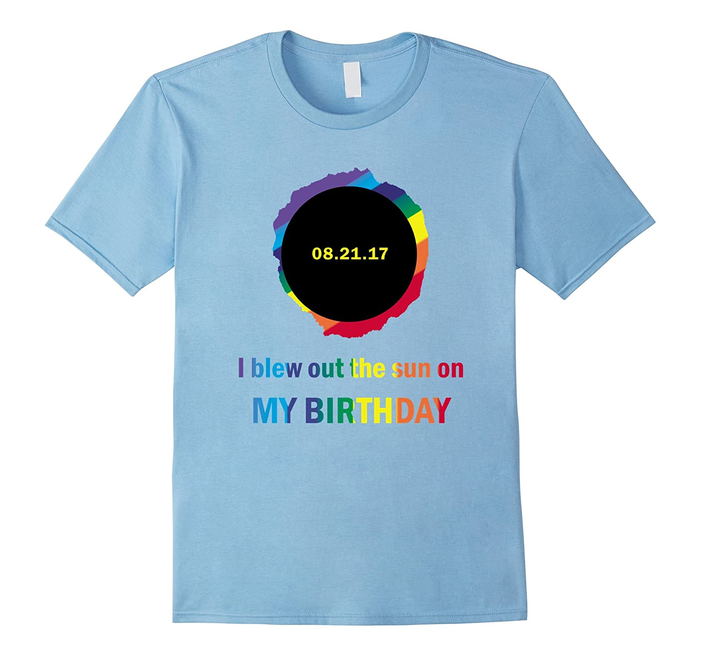 Total Summer Solar Eclipse August 21 Birthday Shirt-BN