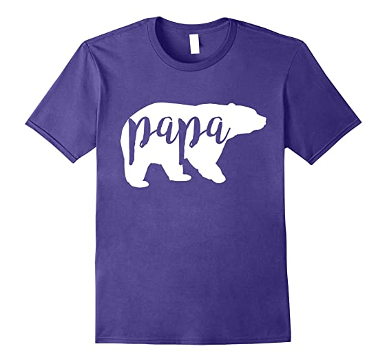 Mens Papa Bear Funny Family Matching Shirts Costume 2XL Purple  sc 1 st  Amazon.com & Amazon.com: Mens Papa Bear Funny Family Matching Shirts Costume ...