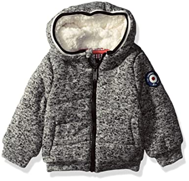 4a88d3675121 Amazon.com  Ben Sherman Baby Boys  Sweater Fleece Jacket  Clothing