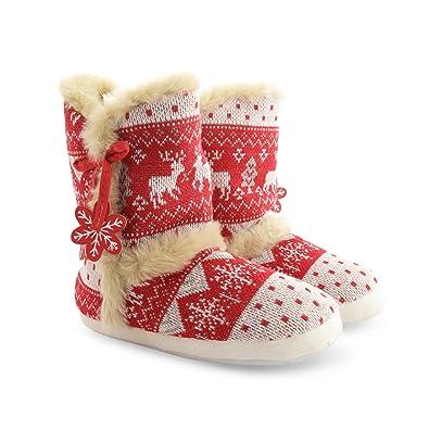79911ffa06fb7b LADIES BRIANNA FARAH ANNABELLE WOMEN DUNLOP SLIPPER WINTER BOOTS FAUX FUR  LINING: Amazon.co.uk: Shoes & Bags