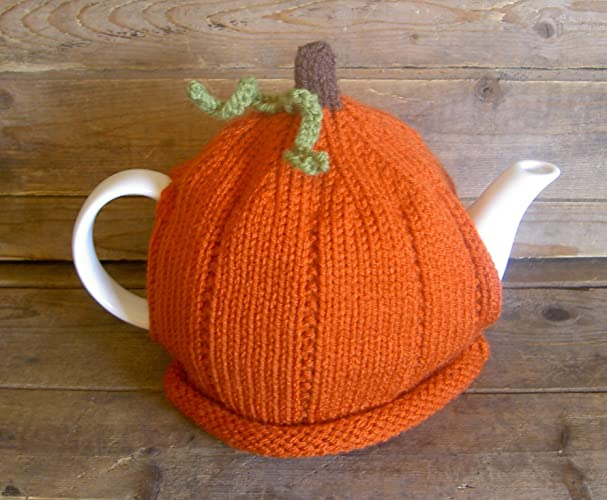Amazon Pumpkin Tea Cozy Knitted Thanksgiving Tea Cosy For 4 6