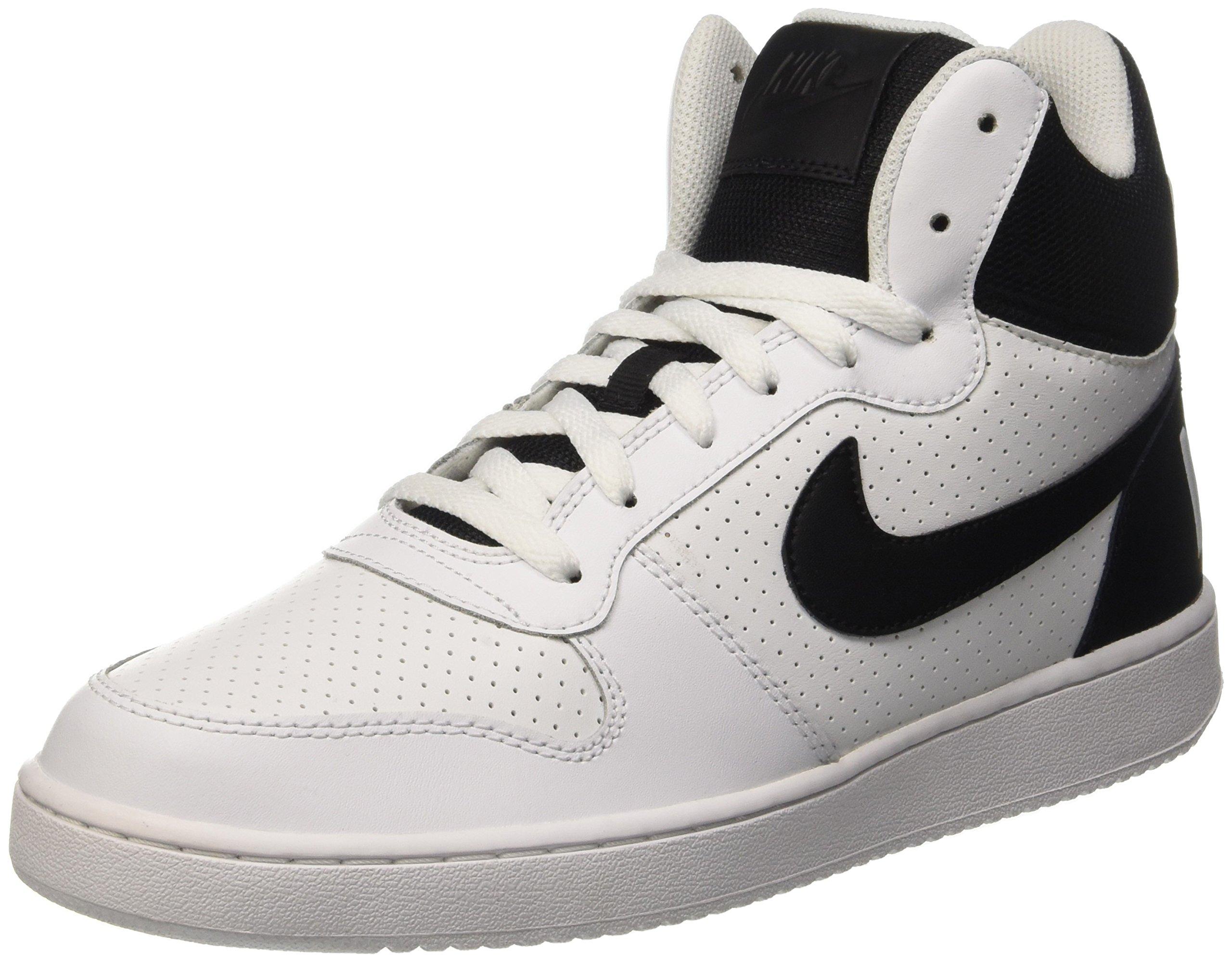 1564084bff1cf8 Galleon - Nike Men s Court Borough Mid Basketball Shoe
