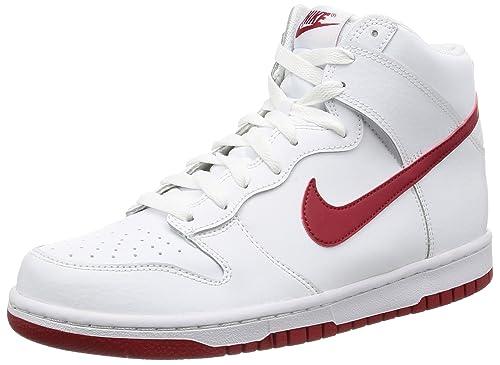 Hi Da Dunk Nike Uomo whitegym Basket Scarpe 43 Red Multicolore 5w41x7