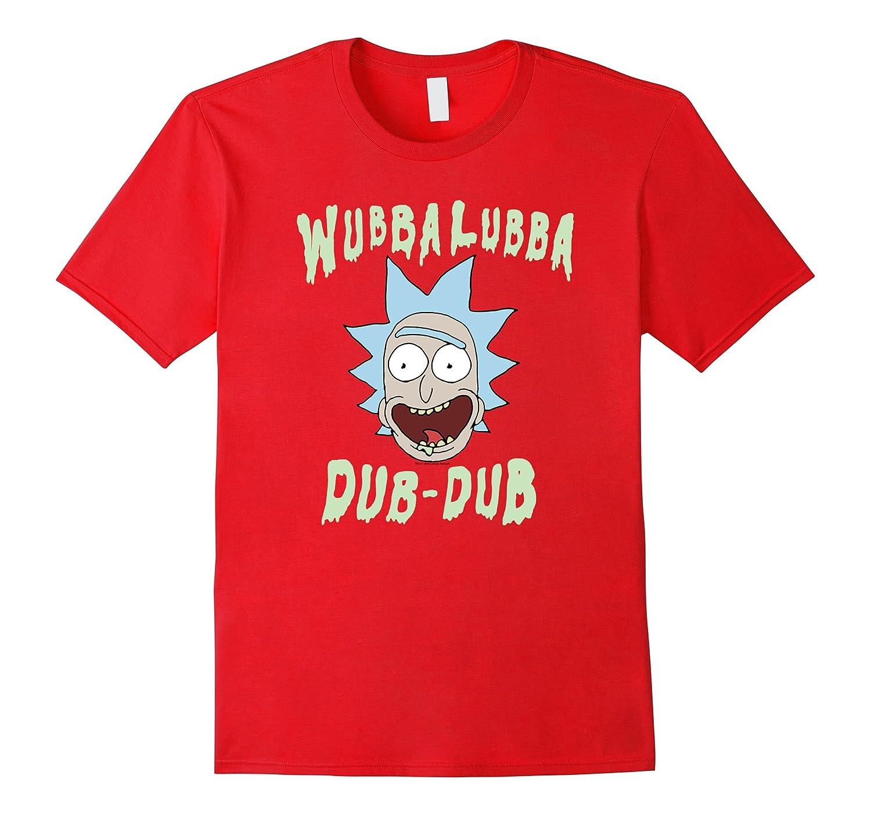Rick  Morty Wubba Lubba Dub-Dub Drippy Text-Vaci