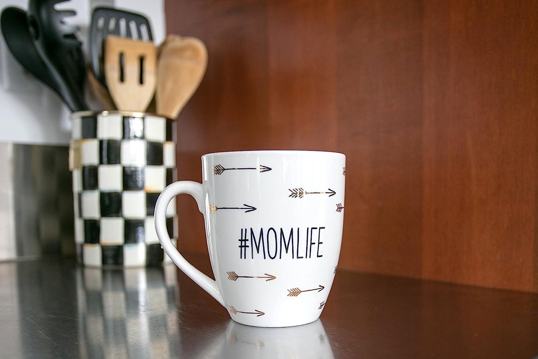 Amazon Com Pearhead Whimsical Parent Mug Graphic Coffee Mug Mother And Father Mugs Baby