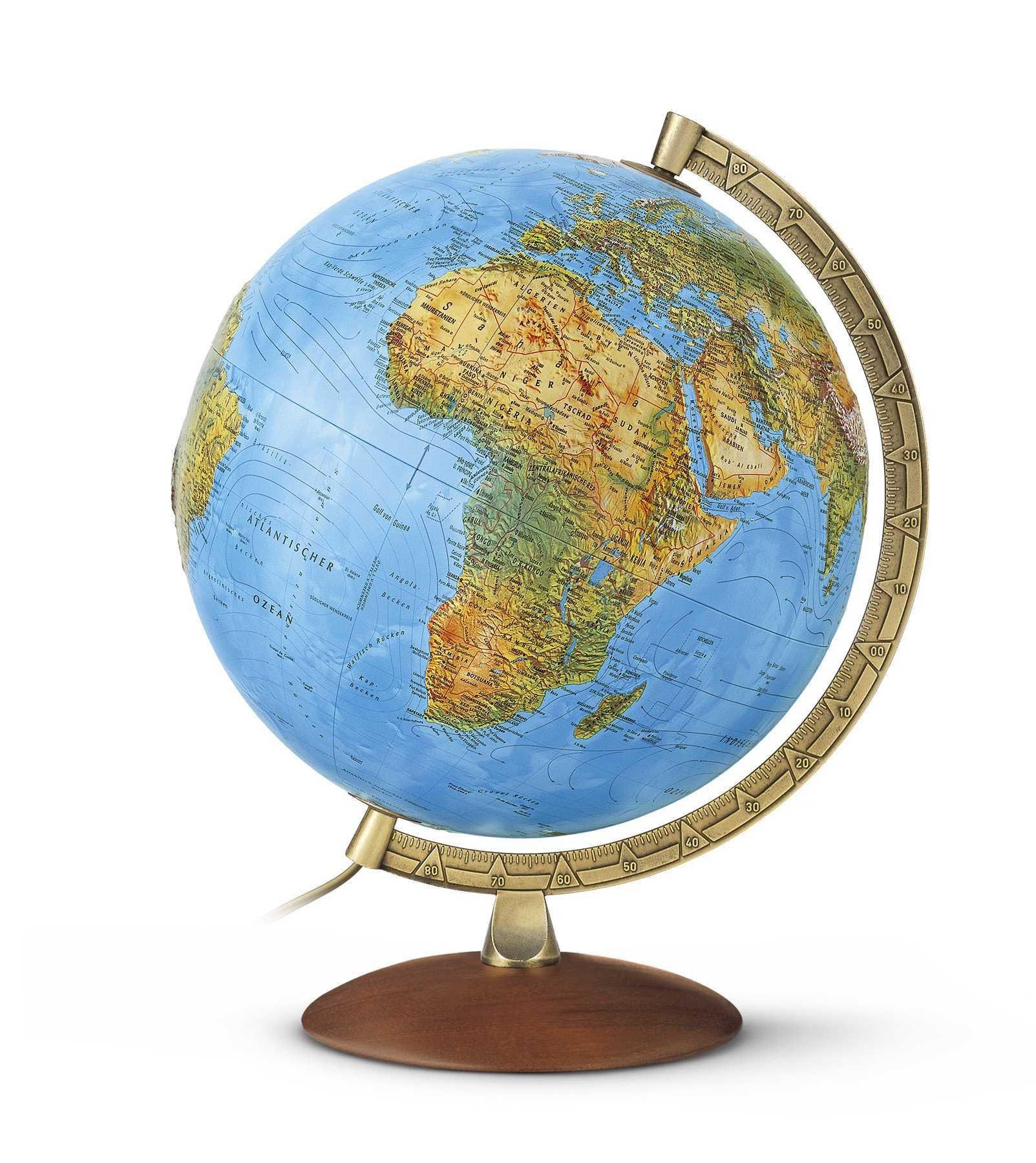 Nova Rico 30cm Primus Illimunated Relief Globe,