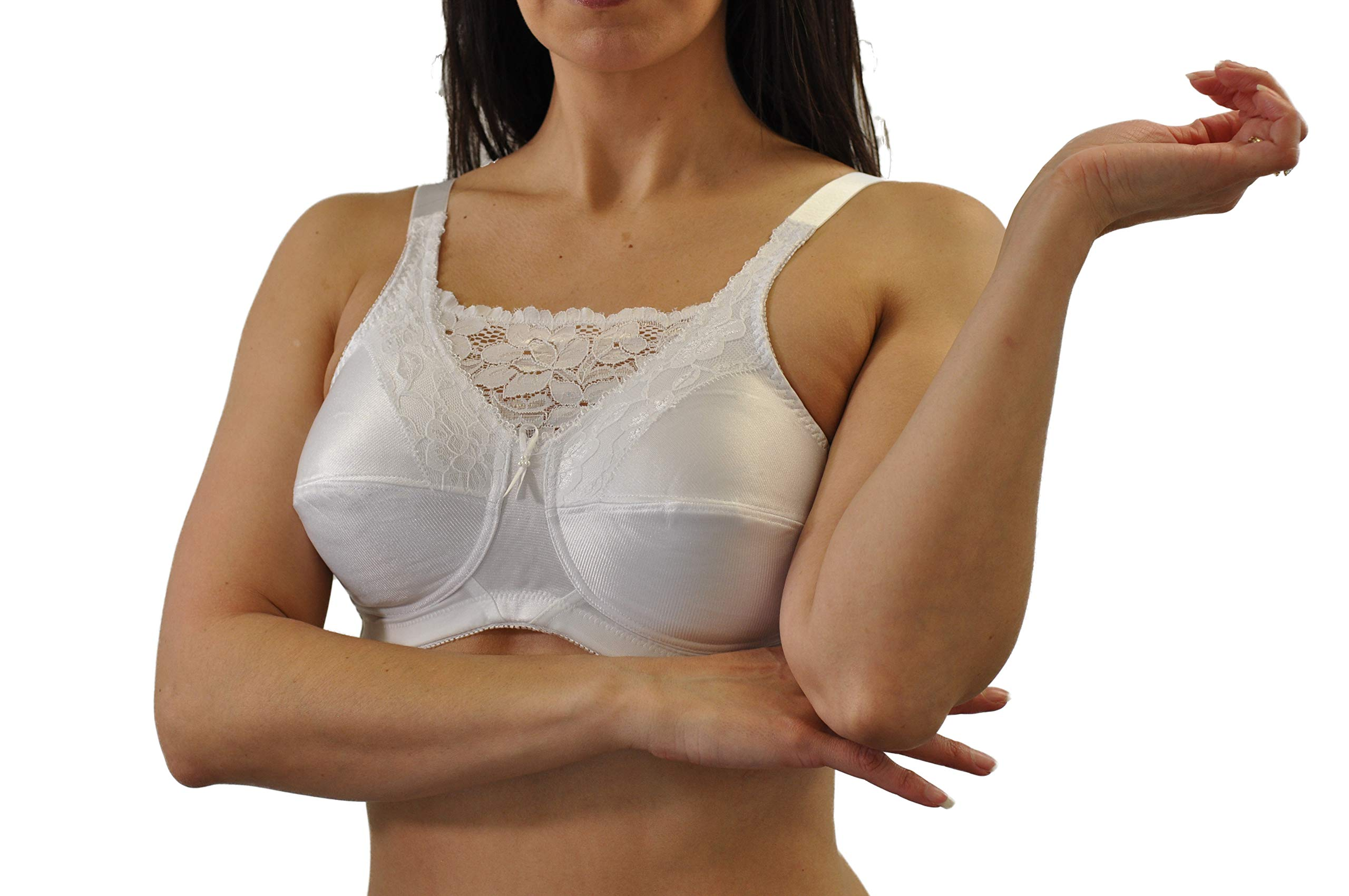 0a28bc55b92be Nearly Me -  660 Cami Mastectomy Bra (Multiple Sizes   Colors) product image