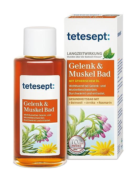 Tetesept Gelenk und Muskel Bad, 125 ml: Amazon.de: Beauty