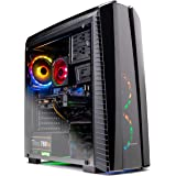 SkyTech Shadow II Gaming Computer PC Desktop – Ryzen 7 2700 8-Core 3.2 GHz