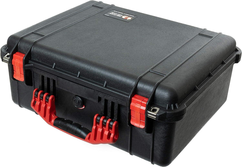 Black /& Red Pelican 1520 case with Foam.