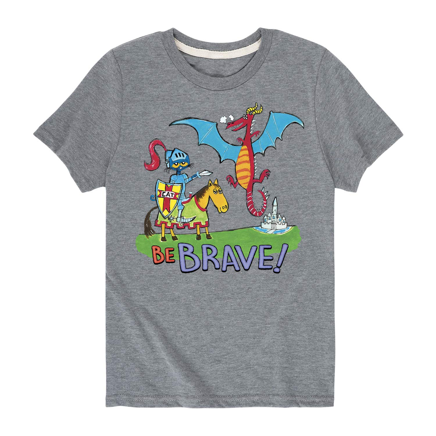 Pete the Cat Be Brave Toddler Short Sleeve Tee
