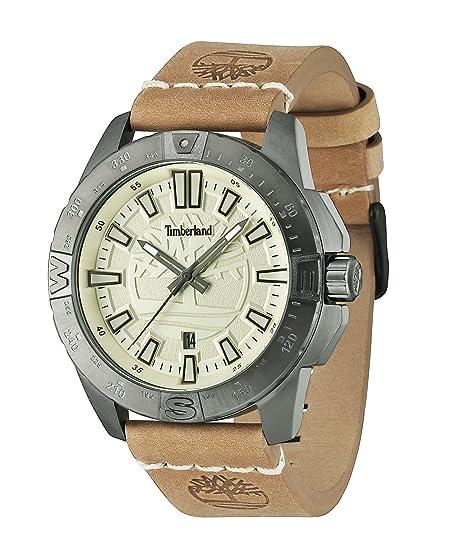 Timberland 14532JSU/07 - Reloj , correa de cuero color marrón: Amazon.es: Relojes