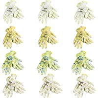 JORESTECH Garden Palm Dipped Nitrile Coated Seamless Knit Work Gloves PPE Hand Protection (Small) Assorted Pack of 12