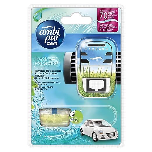 25 opinioni per Ambi Pur Car Deodorante per Auto, Starter Kit, Acqua – Freschezza Naturale, 7 ml