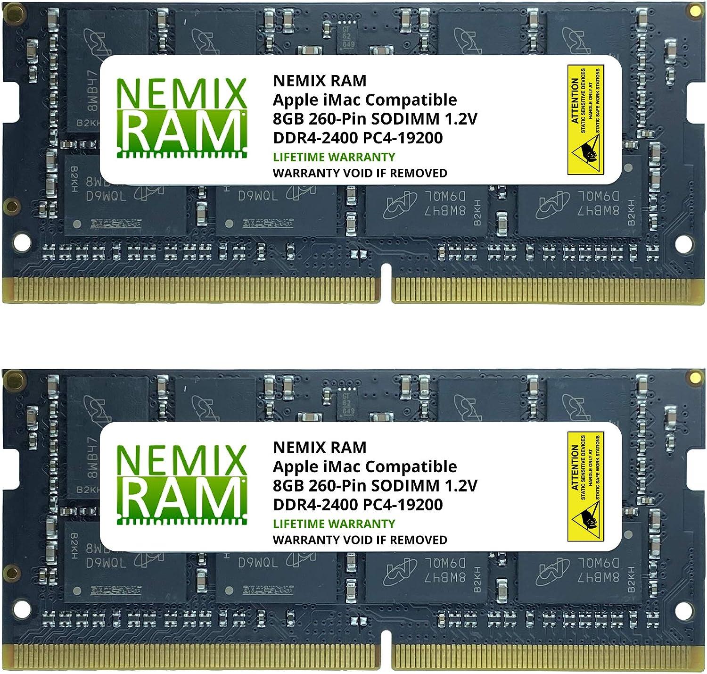 16GB 2X8GB NEMIX RAM Memory for Apple iMac 2017 21.5