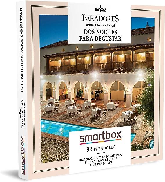 SMARTBOX - Caja Regalo - Paradores: Dos Noches para degustar - Idea de Regalo - 2 Noches, 2 desayunos y 2 cenas con Bebidas para 2 Personas: Amazon.es: Deportes y aire libre