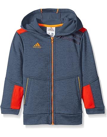 eaad5a2d1e9d adidas Boys  Activewear Zip Up Hoodie