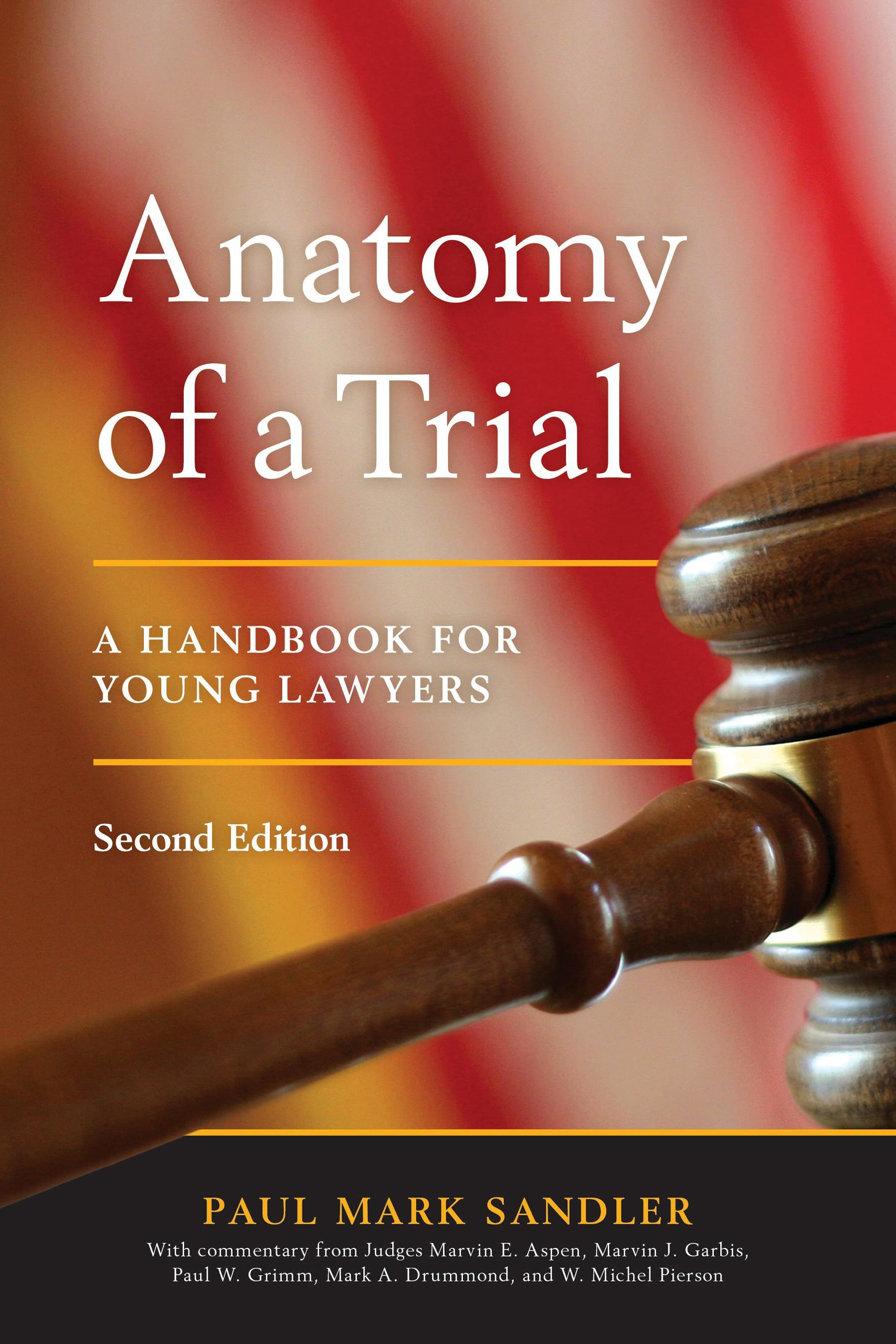 Anatomy of a Trial: A Handbook for Young Lawyers: Paul Mark Sandler ...