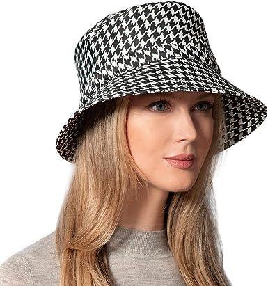 Eric Javits Luxury Fashion Designer Womens Headwear Hat Rain Bucket