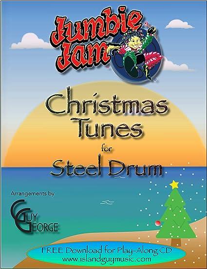 Volume 1 Panyard Jumbie Jam Christmas Tunes for Steel Drum Book