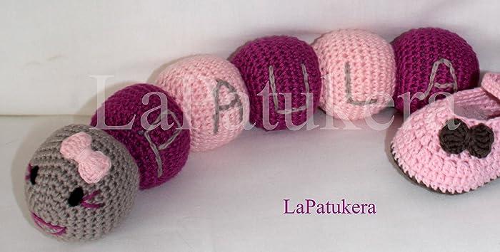 Amigurumi Puppe Für Häkeln Baby Wurm Mit Benutzerdefiniertem Namen