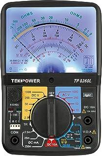 tekpower tp188 pocket size analog multimeter with built in test rh amazon com sanwa multitester analog manual sanwa analog multimeter manual pdf
