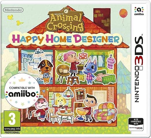 Animal Crossing Happy Home Designer - Nintendo 3DS [Importación ...