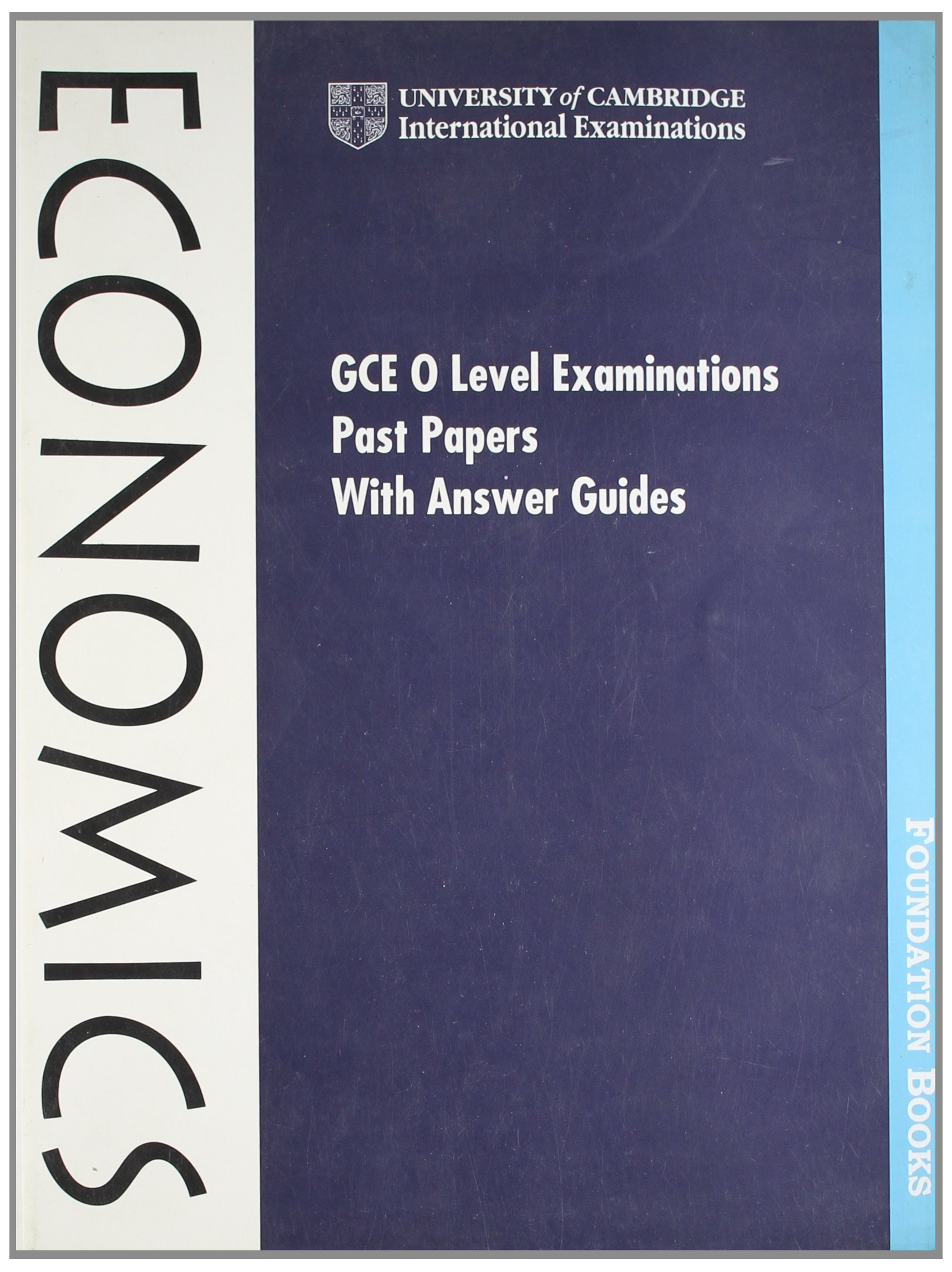 GCE O Level Examination Past Papers with Answer Guides
