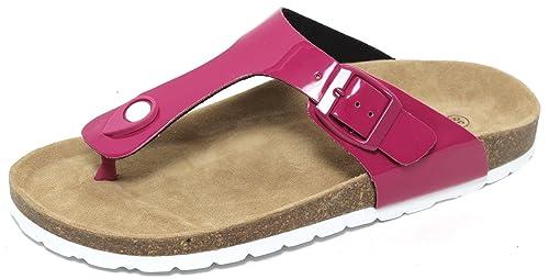 Damen Bio Clogs Pantolette Sandale Slipper Zehentrenner Tieffußbett PASTELL BLAU Gr. 37 Am Billigsten Erhalten Günstig Online Kaufen Modestil YdFGq8q