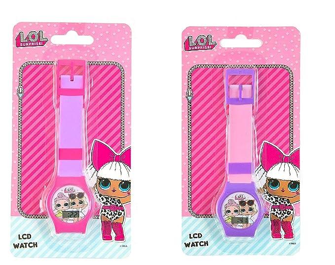 amazon com l o l surprise digital lcd wrist watch stocking stuffer