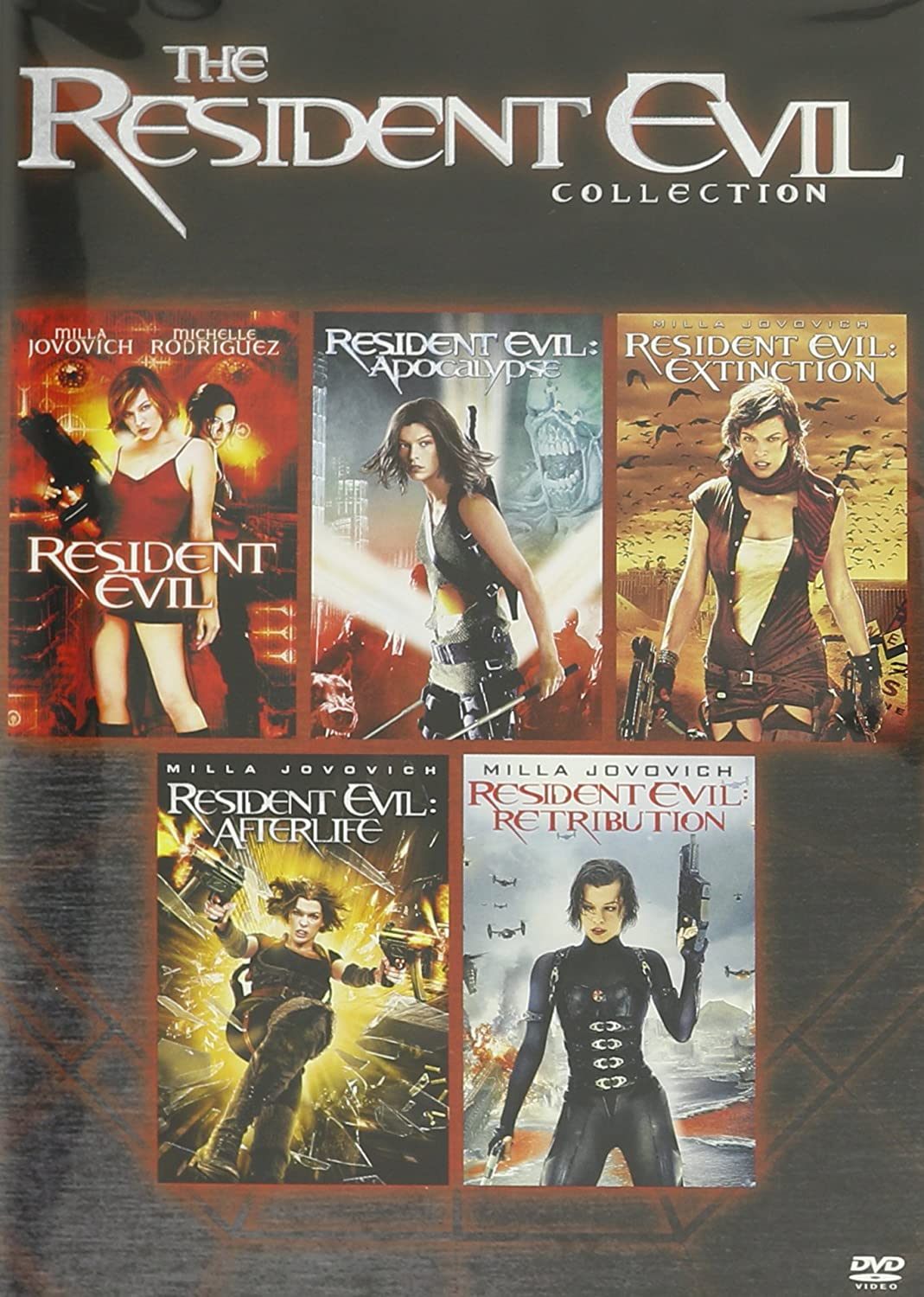 Amazon Com The Resident Evil Collection Resident Evil Resident