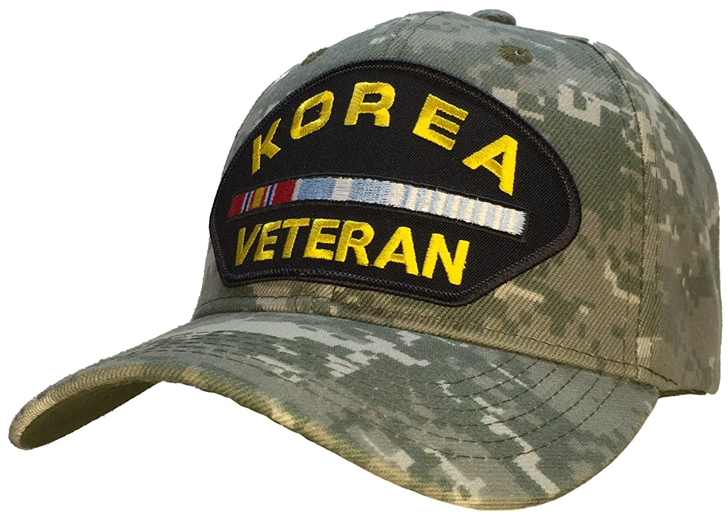 Amazon.com  Korean War Veteran Hat Digital Camo Ball Cap  Clothing 65cf5fa5e62