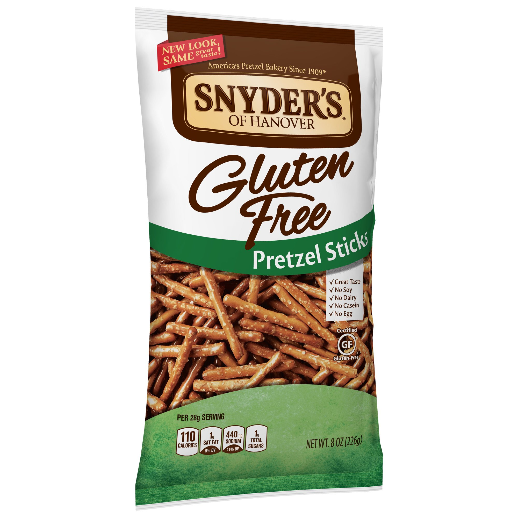 Snyder's of Hanover Gluten Free Pretzel Sticks, 8 Ounce (Pack of 12) by Snyder's of Hanover (Image #5)