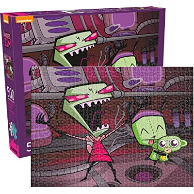 Invader Zim 500pc Puzzle: Toys & Games