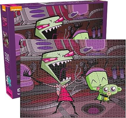amazon com invader zim 500pc puzzle toys games
