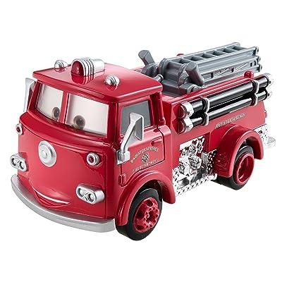 Disney Pixar Cars Oversized Red Vehicle: Toys & Games