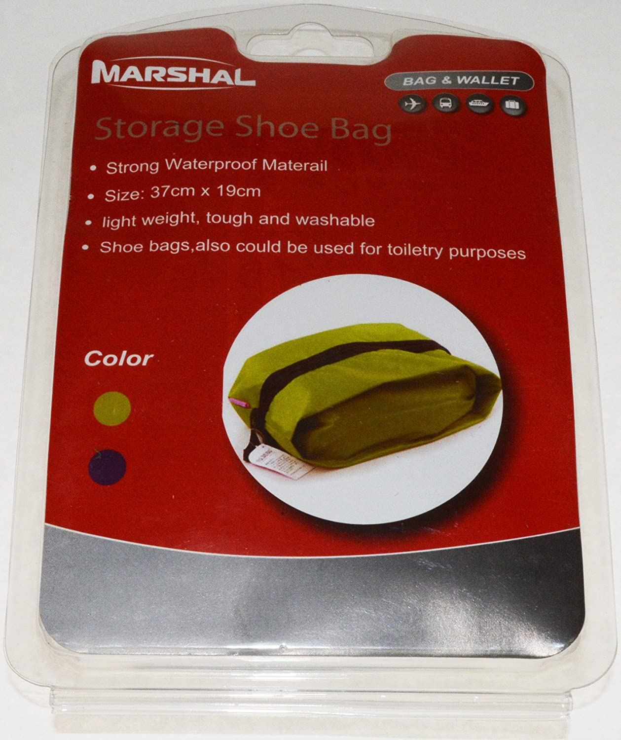 Travel and StorageBag for Shoes or Toiletry Purposes for Travel By Marshal