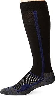 product image for Farm to Feet Men's Blue Ridge Compression Run Socks, Black, Small