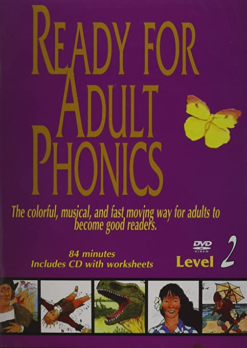 Amazon.com: Ready for Adult Phonics Level 2 (DVD and CD worksheets ...