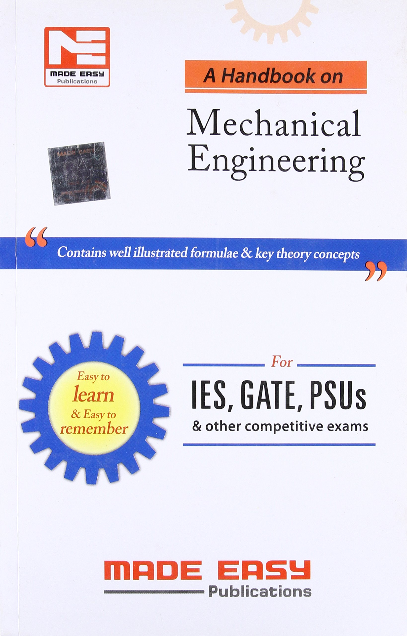 Buy A Handbook for Mechanical Engineering Book Online at Low