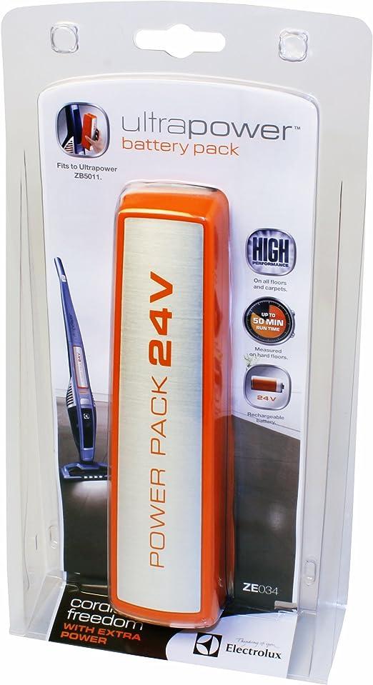 Electrolux ZE034 - Batería de 24 V para aspirador escoba Electrolux UltraPower ZB5011: Amazon.es: Hogar
