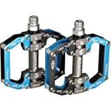 "Bonmixc Mountain Bike Pedals 9/16"" MTB BMX Dh Platform Pedals Cycling Sealed Bearing Bike Pedals"