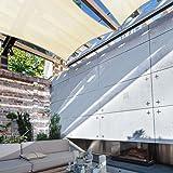Coarbor 8' x 12' Rectangle Beige UV Block Sun Shade