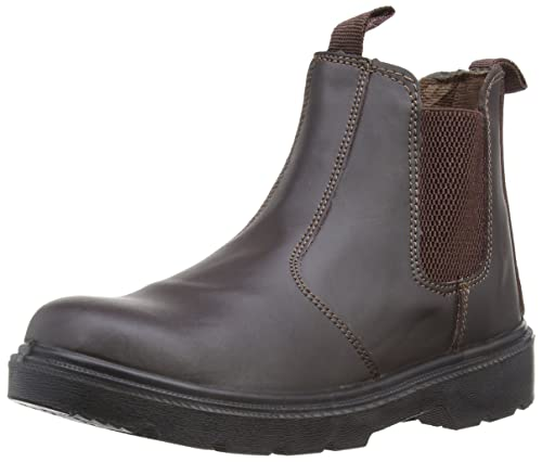 f2a7641853e Blackrock SF12 Dealer Chelsea Safety Work Steel Toe Boots Shoes Black Or  Brown