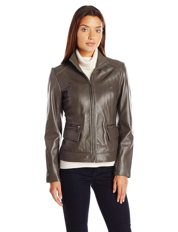 Cole Haan Women's Wing Collar Jacket Cole Haan Women' s Outerwear 356M2186