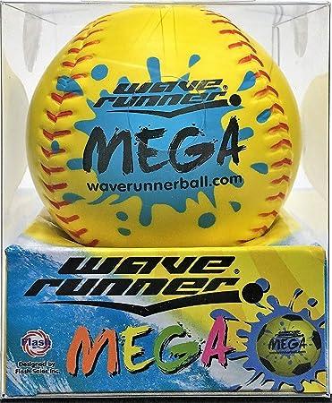 60e1b6fb2e317 Wave Runner Sports Mega Ball #1 Water Ball for Skipping and Bouncing The  Perfect Pool Ball and Ocean Ball (Random Ball)