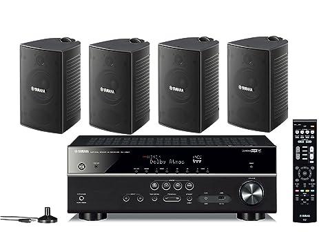Amazon.com: Yamaha 7.2-Channel Wireless Bluetooth 4K Network A/V Wi ...